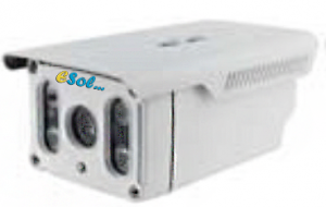 Esol ES400-90/6 - Camera video IP de exterior, 4 MP, 3DNR
