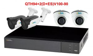 QTH94+2(D+ES)V100-90 - 1xQTH94 + 2xDV100/30A + 2xESV100/90A