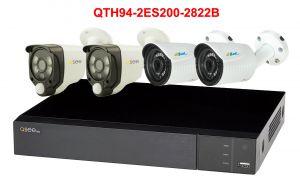 Kit supraveghere video - QTH94B-2ES500L-28222B - 1xQTH94B + 2xES500L/20A + 2x QH8222B
