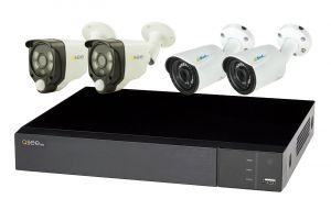 Kit supraveghere video - QTH98B-2QH8222B2ES2 - 1xQTH98B + 2xES200/20A + 2xQH8222B