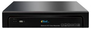Esol - EN265/204-PoE -NVR 4 Canale Video 8MP/H.264 4 x Porturi PoE Stocare 2 x HDD SATA 6 TB Fiecare