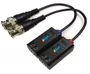 Esol - Video balun pasiv cu fir pentru camere HD-AHD CVI sau TVI 5MP Protectie supratensiune