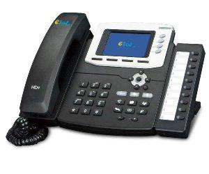 "Esol -  TVOIP-Secretariat-PLUS - Telefon VOIP Secretariat Plus LCD 3.5"" Color PoE HD hands-free speaker 4 Linii SIP"