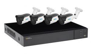 QTH98-4ES6/60   Kit supraveghere video - 1xDVR QTH98 + 4x ES6/60
