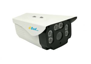 Esol ESVZ5M-4x - Camera EXT 5 MP PoE IR 100 m H.264/H.265 Lentila (2.7-13.5)mm ZOOM MOTORIZAT 4X AUTO-FOCUS