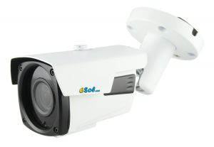 Esol - ESV200/60A – Camera video de exterior AHD, 2 MP, Lentila varifocala 2.8-12mm,  IR 60m,