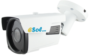 ESV800L/60A - Camera video de EXTERIOR Carcasa Metalica, 8.0 Mp Lite , lentila (2.8-12)mm