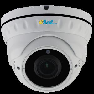 ESZDV5M/5X - Camera DOME EXTERIOR / INTERIOR, 5 MP, lentila (2.7-13.5)mm, POE incorporat, IR 30m, H.264/H.265, ZOOM MOTORIZAT 5X si AUTO-FOCUS