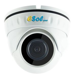 Camera video DOME IP, 5Mp, lentila 2.8 mm, PoE & Microfon