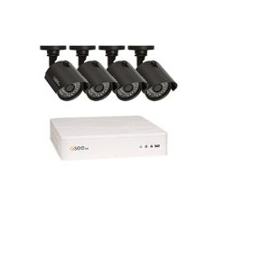QTH8-4Z3-1 - KIT AHD DVR 8 canale & 4 Camere Exterior 720p / IR 30M