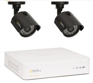 QTH4-2Z3-1 - KIT AHD DVR 4 canale video & 2 Camere Exterior 720p / IR 30M