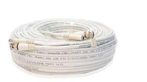 Q-see Cablu microcoaxial cu alimentare, mufat BNC si alimentare - 10m