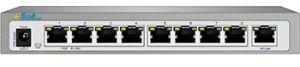 Switch 8 porturi POE 10/100Mbps 200W 802.3AT + 1 Port Uplink 10/100Mbps