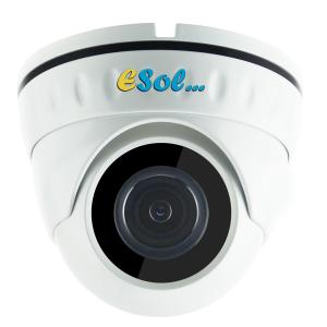 Esol - Camera video D400/20-PoE, 4Mp, cu PoE integrat, IR 20m