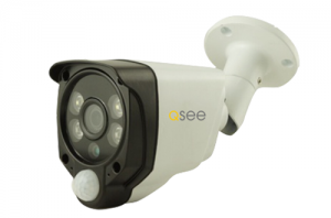 Q-see - QH8222B Camera video AHD, 2 Mp cu PIR si lumina alba