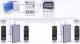Unitate de control acces şi pontaj de exterior cu amprentă digitală, model TF1700