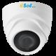 Camera video Dome Carcasa Plastic, 5MP LITE / 2.0 MP, lentila 2.8 mm