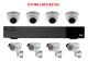 QTH87+4(DV&EV)5 - 1xQTH87 + 4xDV800L/30A + 4xESV500/40A